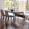 アジアンダイニングテーブル&チェア2脚+ベンチセット