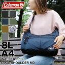 【2018年モデル】Coleman コールマン WALKER ウォーカー COOL SHOULDER MD クールショルダーMD ショルダーバッグ 斜め掛けバッグ 8L A4 ボトルクーラー付き 50