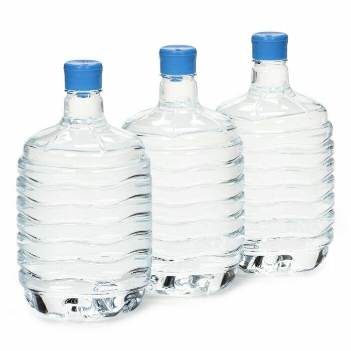 富士の天下一水8L(1箱3本入)ウォーターサーバー対応ペットボトル【送料別・代引き・Edy決済不可・配送エリア限定】
