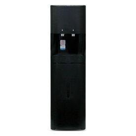 水道管直結浄水サーバーD25 (BLACK)床置きタイプ 水道直結 ボトル不要 ウォーターサーバー 浄水機能 床置き フィルター内蔵 冷水 温水 ブラック