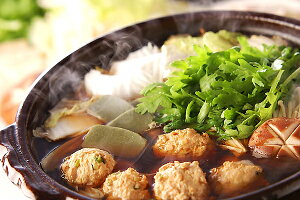 《絶品鍋ここにあり》比内地鶏の!極上水炊きつみれ鍋 塩白湯スープ仕立て4〜5人前セット【送料無料】