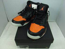 ナイキ NIKE JORDAN MARS270 スニーカー 靴 ブラック オレンジ 【中古】【SS2012S】