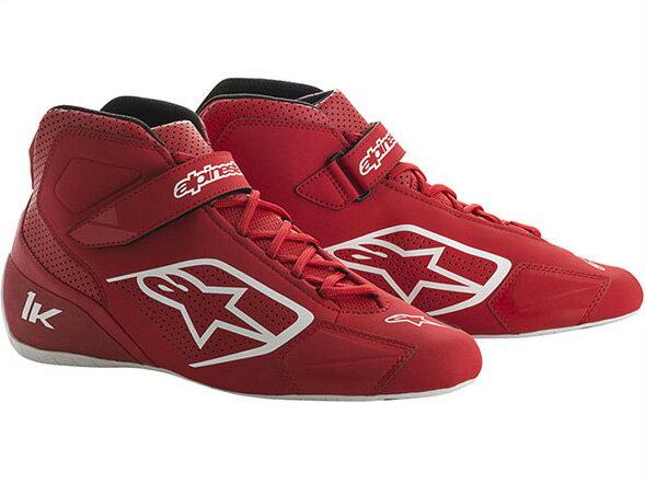 カートレーシングシューズ TECH1-Kシューズ 32 RED WHITE alpinestars(アルパインスターズ)