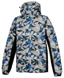 Stretch rainsuit elr-8291-bl is blue