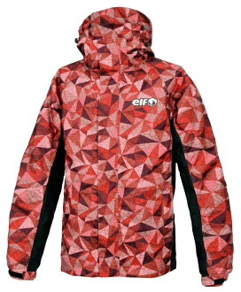 Stretch rainsuit elr-8291-rd red