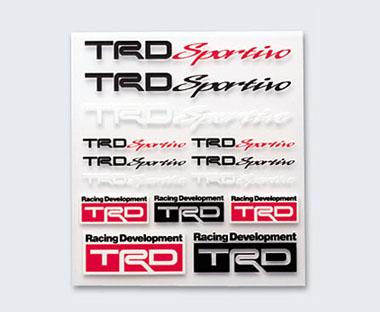TRD Sportivo ミニステッカーセット 【toyota】 【トヨタ】