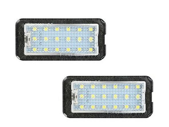 フィアット500 '08〜/500C '09〜用 LED リア ナンバー ライト ユニット