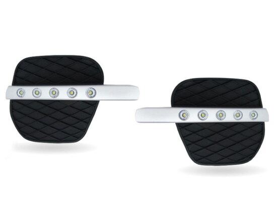 供附帶MAX LED白天跑步燈的前台空氣界內拿BMW E70/X5使用的黑色空氣INN拿的 autoparts ELS