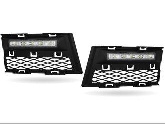MAX LED 데이 타임 런닝 라이트 첨부 프런트 에어 인 테이크 AUDI A4 8 E/B7용