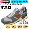 "男子的運動鞋""Lotto""supotsushuzuheriteijiosurogure 25-28的4尺寸"