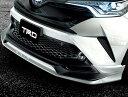 フロントスポイラー(LEDなし) トヨタ C-HR 塗装済 TRD【代引不可】