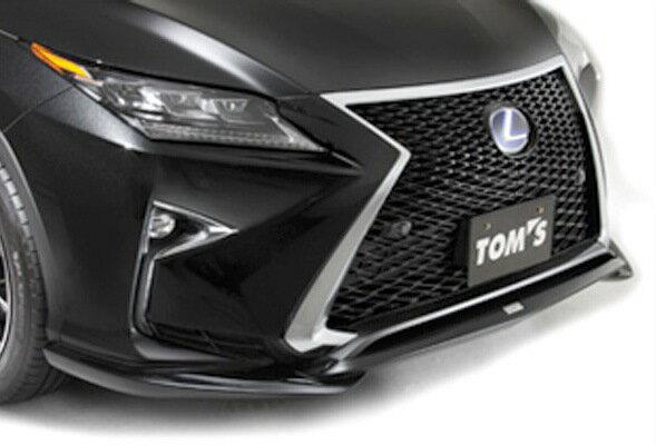 LEXUS RX450h (GYL2#W)/200t(AGL2#) フロントスポイラー塗装済 TOYOTA/トヨタ/エアロ 【TOMS トムス】 (代引不可) (送料別)