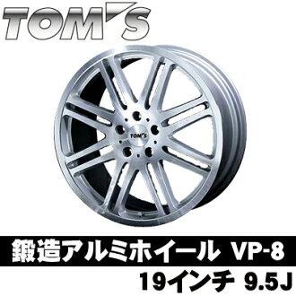 湯姆斯 19 突然打開鍛造鋁輪副總裁 8 19 x 9.5 J VP802