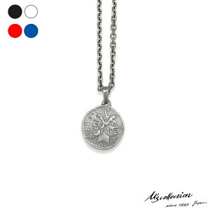 エムズコレクション ローマコイン リバーシブル ペンダント ネックレス S 45cm シルバー925 メンズ ブランド