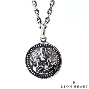 ライオンハート LION HEART コイン ネックレス シルバー925 THE CHARIOT チャリオット 戦車 メンズ ブランド