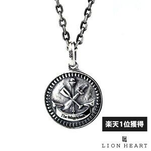 【ポイント10倍*4日はMAX36倍】 ライオンハート LION HEART コイン ネックレス シルバー925 THE MAGICIAN マジシャン 魔術師 メンズ ブランド