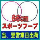 【送料無料 北海道、東北、沖縄は+1,000円】スポーツフープ 66cm 【フラフープ】【一流工場生産のライテック社(M-net)…