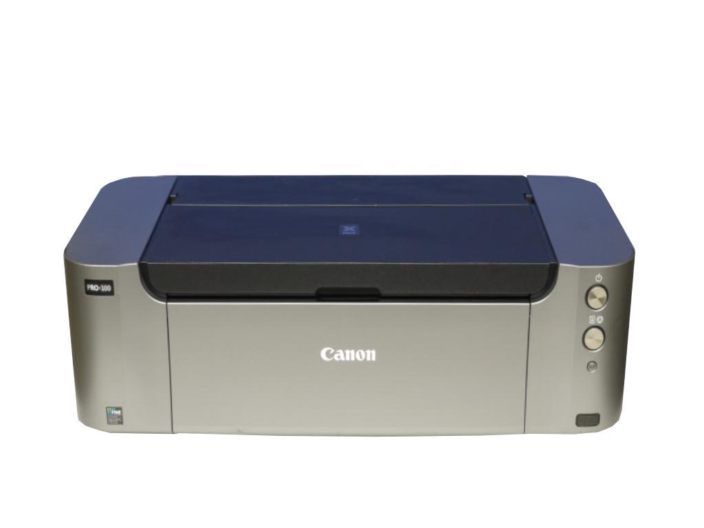 PIXUS PRO-100 Canon 有線/無線LAN A3ノビ対応 インクジェットプリンタ 【中古】【全品送料無料セール中!】