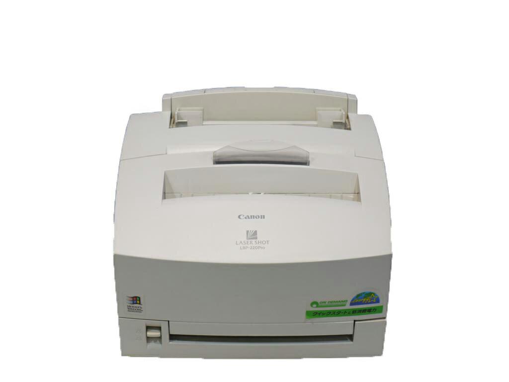 Canon LBP-220Pro A4モノクロレーザープリンタ Windows 3.1/95対応【中古】【送料無料セール中! (大型商品は対象外)】