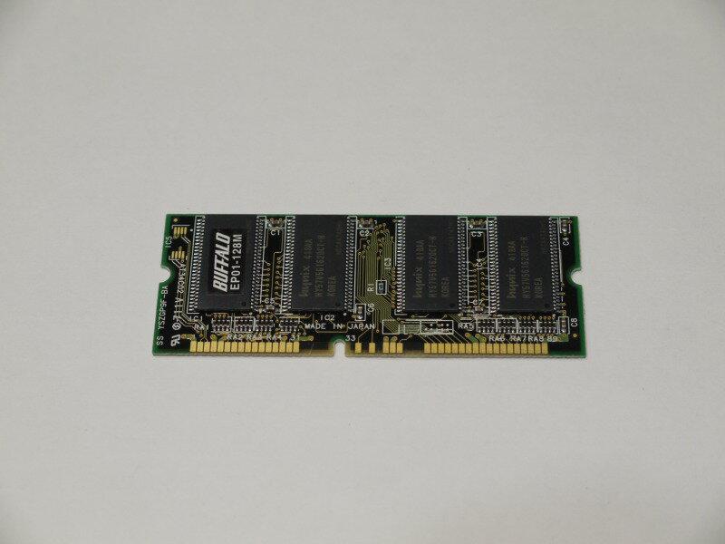EPSON EP01-128M Buffaloプリンター増設メモリ 128MB 【中古】【送料無料セール中! (大型商品は対象外)】