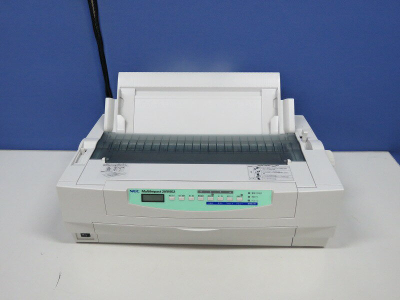 MultiImpact 201MX2 NEC ドットプリンタ 単票用紙ガイド付【中古】【送料無料セール中! (大型商品は対象外)】