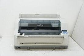 NEC MultiImpact 700XX2N(PR-D700XX2N) ドットプリンタ 用紙ガイド付き ネットワーク標準対応モデル【中古】