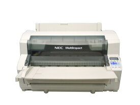 NEC MultiImpact 700JAN ドットプリンタ ネットワーク標準対応 用紙ガイド付き【中古】