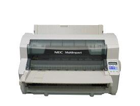 NEC MultiImpact 700JA (PR-D700JA) 高複写印刷対応ドットプリンタ 用紙ガイド付き 複写最大9枚【中古】