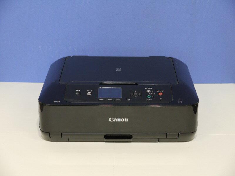 【BCI-370/371インク対応】MG6930 BK(ブラック) Canon PIXUS A4インクジェット複合機 スマートフォンプリント対応 【中古】