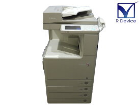 Canon imageRUNNER ADVANCE C2220F A3カラーレーザー複合機 FAX/ADF 約1.7万枚 付属品類付き【中古】