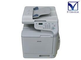 EPSON LP-M720F A4カラーレーザー複合機 ビジネスモデル PostScript対応 約2,500枚【中古】