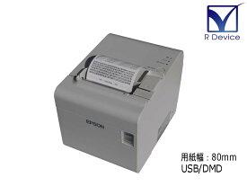 EPSON TM-T90II(TM902UD141) 80mmサーマルレシートプリンタ USB/DMDポート【中古】