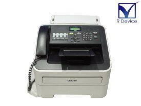 Brother JUSTIO FAX-2840 A4モノクロレーザー複合機 FAX/ADF/受話器 約1.4万枚【中古】