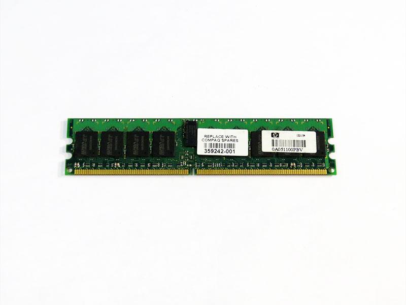 359242-001 HP 1GB DDR2-400 ECC ELPIDA EBE10RD4ABFA-4A-E【中古】【送料無料セール中! (大型商品は対象外)】