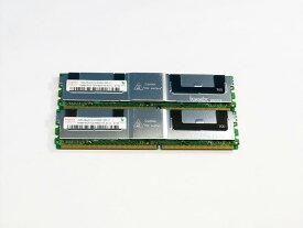 HYMP512F72CP8D3-Y5 hynix 計2GB (1GBx2) DDR2-667 PC-5300 ECC 1.8V 240pin サーバー用メモリ【中古】
