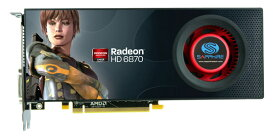 SAPPHIRE RADEON HD 6870 1GB GDDR5 21179-00-40R【中古】【送料無料セール中! (大型商品は対象外)】