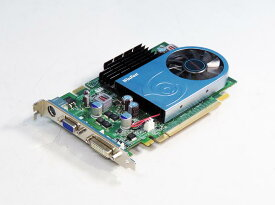 LEADTEK GeForce 9500GT 512MB PCI Express 16x DVI/VGA/TV-out WinFast PX9500GT【中古】