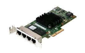 09YD6K DELL 4ポート 1000BASE-T イーサネットアダプタ PCI-Express 2.1 Intel Server Adaptor I350-T4 LowProfile【中古】