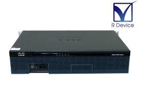 CISCO 2911/K9 V02 Cisco Systems サービス統合型ルータ 73-9368/73-13315搭載【中古】
