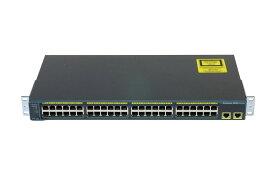 Cisco Systems Catalyst 2960シリーズ WS-C2960-48TT-L V08 Ver 12.2(50)SE4 初期化済み【中古】【送料無料セール中! (大型商品は対象外)】
