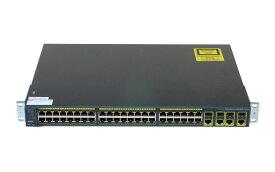 Cisco Systems Catalyst C2960Gシリーズ WS-C2960G-48TC-L V03 初期化済み/ファン異音 ver12.2(46)SE 【中古】【送料無料セール中! (大型商品は対象外)】