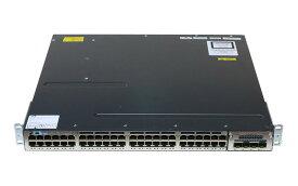 Cisco Systems Catalyst 3750-X シリーズスイッチ WS-C3750X-48T-L V03 ver 15.0(2)SE/電源ユニット *2/C3KX-NM-10G搭載 初期化済み【中古】【送料無料セール中! (大型商品は対象外)】