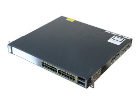 WS-C3750E-24TD-S V05 Cisco Systems 10/100/1000ポート*24/10G SFP *2 Ver 12.2(53)SE2【中古】【送料無料セール中! (大型商品は対象外)】