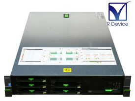PRIMERGY RX300 S8 PYR308R3N 富士通 Xeon Processor E5-2609 v2 2.50GHz *2/16GB/HDD非搭載/DVD-ROM/D2607【中古サーバー】