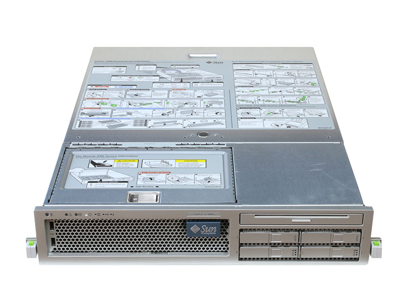 Sun Fire T2000 Sun Microsystems UltraSPARC T1 1.0GHz/8GB/HDD非搭載/DVDコンボドライブ/電源ユニット *2【中古】【送料無料セール中! (大型商品は対象外)】