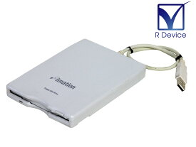 D353FUE imation USBバスパワー 外付け 3.5インチ 2HD/2DD フロッピーディスクドライブ【中古】
