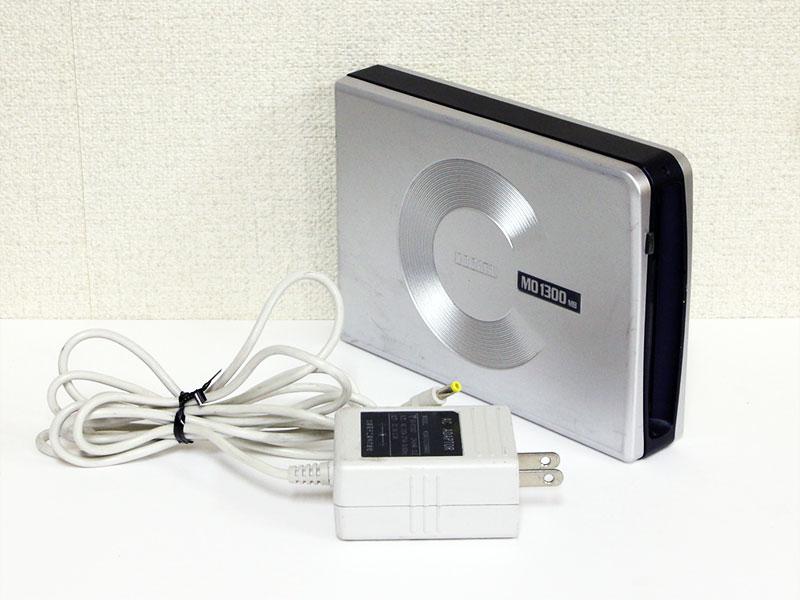 MOC2-U1.3 IO DATA USB 2.0/1.1対応 1.3GB 3.5インチMOドライブ 社外ACアダプタ付属【中古】【送料無料セール中! (大型商品は対象外)】