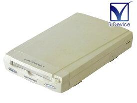 MOS350S OLYMPUS SCSI接続 640MB 3.5インチ MOドライブ (TURBO WHITE) ACアダプタ欠品【中古】【送料無料セール中! (大型商品は対象外)】