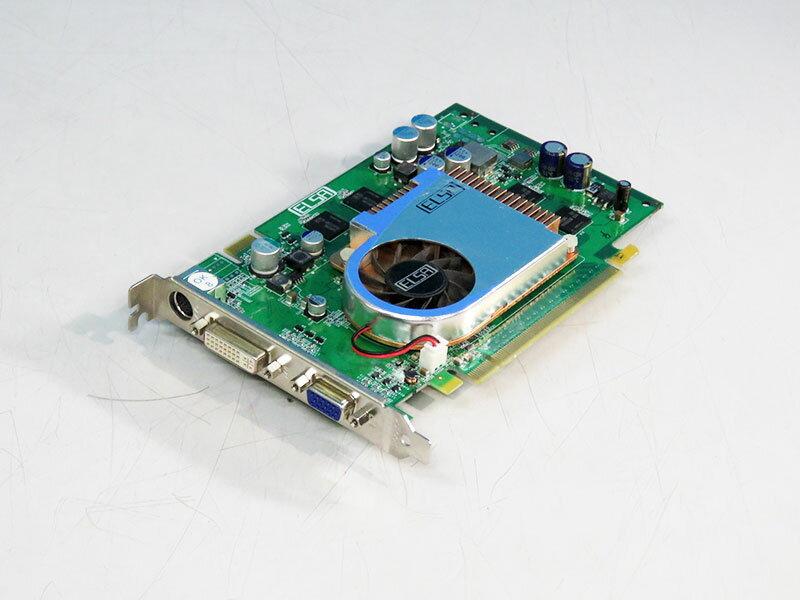 ELSA GeForce 6600GT 128MB DVI/VGA/TV-out PCI Express x16 GLADIAC 743GT GD743-128EBGT【中古】【送料無料セール中! (大型商品は対象外)】