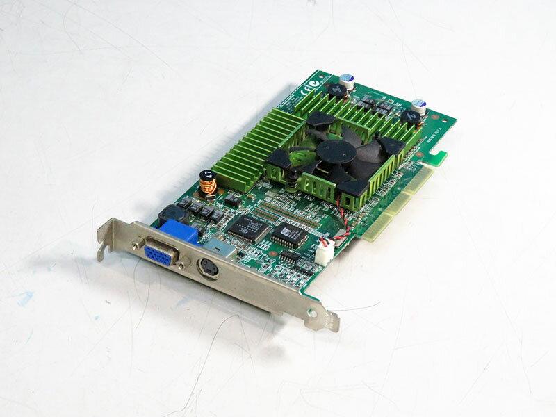 ELSA GeForce3 64MB VGA/TV-out AGP 4x GLADIAC 920 TV-OUT【中古】【送料無料セール中! (大型商品は対象外)】